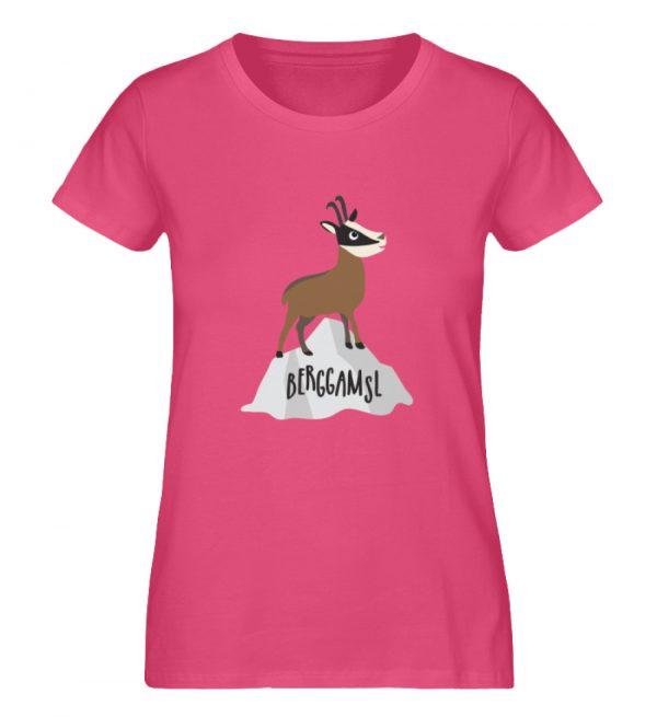 Berg Gemse Gämse Gams - Damen Premium Organic Shirt-6930