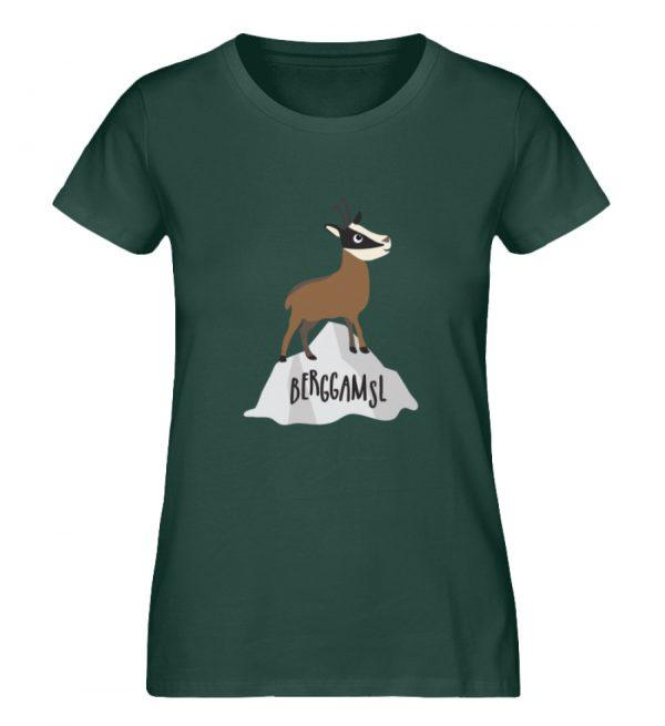 Berg Gemse Gämse Gams - Damen Premium Organic Shirt-7112