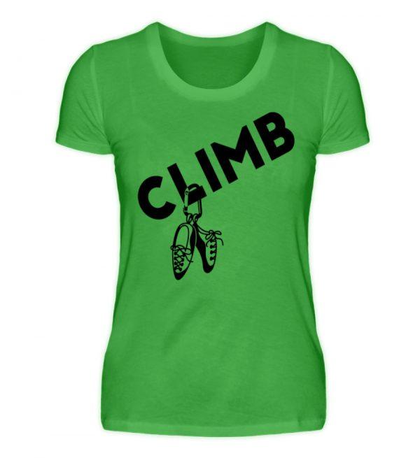 Climb - Kletterschuhe Kletter T-Shirt - Damenshirt-2468