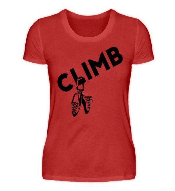 Climb - Kletterschuhe Kletter T-Shirt - Damenshirt-4