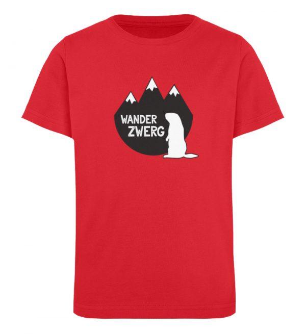 Wanderzwerg - Kinder Organic T-Shirt-6882