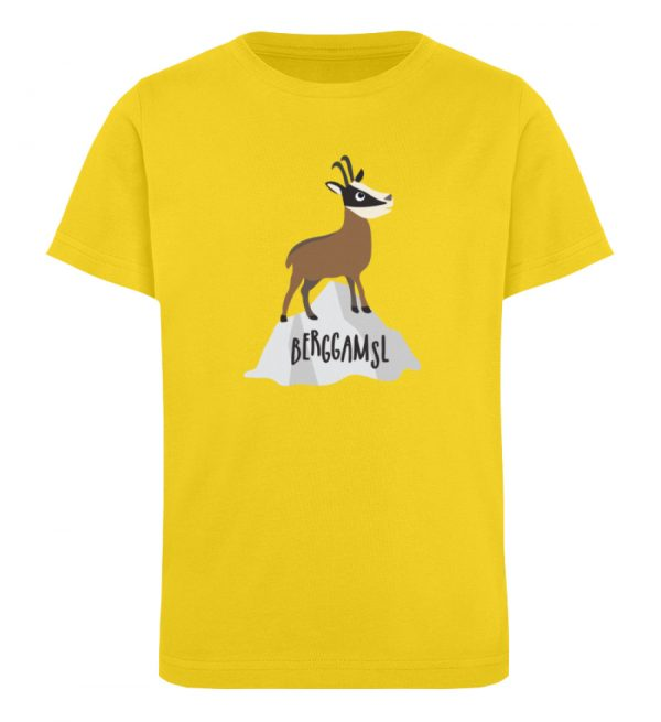 Gams Gemse Gämse Berggamsl Berggams - Kinder Organic T-Shirt-6905