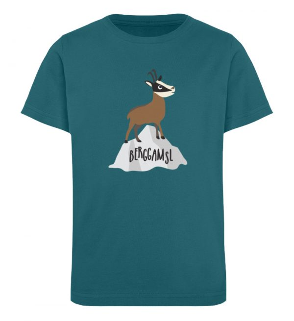 Gams Gemse Gämse Berggamsl Berggams - Kinder Organic T-Shirt-6889