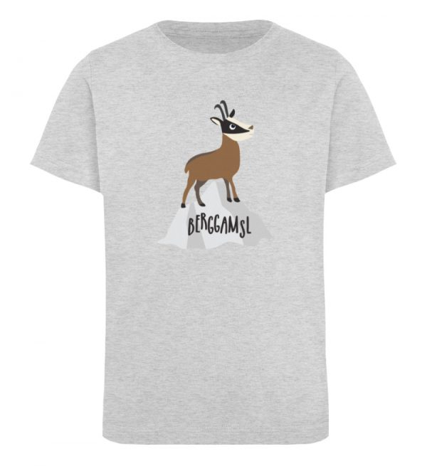 Gams Gemse Gämse Berggamsl Berggams - Kinder Organic T-Shirt-6892